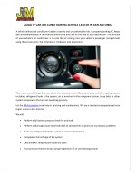 JM Automotive - Best car air conditioning service center In San Antonio