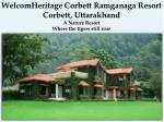 Best Budget Hotels In Ramnagar Jim Corbett- Ramganga Resort