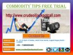 MCX Trading Call, Commodity Trading Call