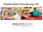 Healthy Bodies Physiotherapy - VIC