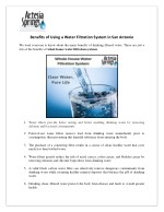 Whole House Water Filtration System in San Antonio