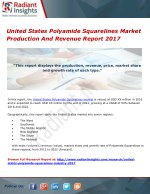 United States Polyamide Squarelines Market Production And Revenue Report 2017