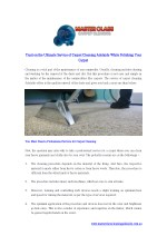 Trust on the Ultimate Service of Carpet Cleaning Adelaide While Polishing Your Carpet