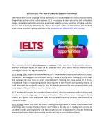 IELTS SUCCESS TIPS – How to Qualify IELTS exam in First Attempt