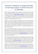Find Best Collections of Happy Birthday Cards Images Online To Wish Someone On Birthday