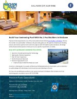 Build Your Swimming Pool With No.1 Pool Builders In Brisbane