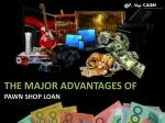 How To Get Instant Pawn Loan From Unwanted Items