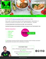 Follow Our Scientific Healthy Eating Weight Loss Plan
