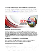 IELTS SUCCESS TIPS – Qualifying IELTS Exam in First Attempt