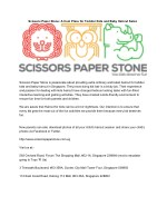 Scissors Paper Stone: A Cool Place for Toddler Kids and Baby Haircut Salon
