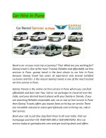 online cab booking service in pune