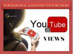 Increase YouTube Views on Your YouTube Video