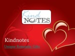 One Year Anniversary Gifts for Her - Kindnotes.com