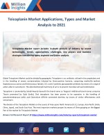 Teicoplanin Market to 2021 Industry Size, Share, Revenue Analysis