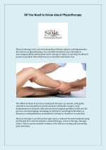 All You Need to Know about Physiotherapy
