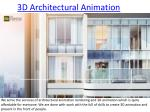 3D Architectural Animation and Design