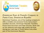 Punta Cana Airport Transfers Services