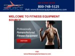 Exercise equipment companies