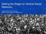 Vertical Social Networks