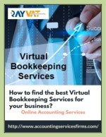 Virtual Bookkeeping Services for your Business