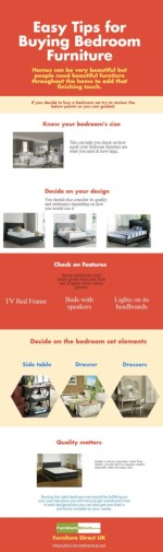 Easy Tips for Buying Bedroom Furniture
