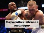 Mayweather's quality silences McGregor