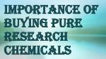Plenty of Ways to Find Pure Research Chemicals