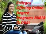 Colleges Offering Online Degree Programs