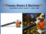 Buy best quality Lawn Movers from Freeway Mowers & Machinery
