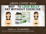 Green Coffee Capsules For Weight Loss