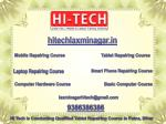 Hi Tech is Giving Branded Tablet Repairing Course in Laxmi Nagar, Delhi