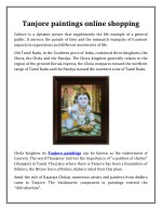 Tanjore paintings online shopping | IndiaEthnix