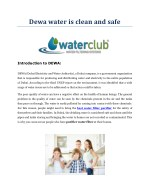 Water purification drinking systems