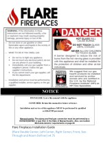 Manual Model List and Information of Fireplaces