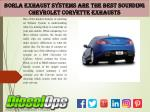 Borla Exhaust Systems Are the Best Sounding Chevrolet Corvette Exhausts