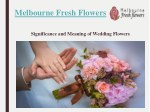 Ideas to Choose best Wedding Planners – Melbourne Fresh Flowers