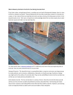 What a Masonry Contractor Can Do for Your Boring Concrete Floor