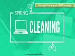 Spring Cleaning at GSR Cleaning