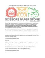 Scissors Paper Stone offer wide range of kids friendly haircut services