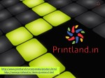 Business Promotional Poster with Logo & Text Printed Online