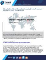 Silicon Carbide Market To Witness High Growth As A Result Of Strong Demand From Steel And Energy Sectors