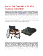 Medical Supplies | Home Medical Equipment |Baltimore MD