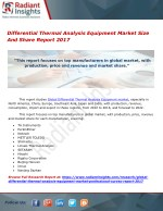 Differential Thermal Analysis Equipment Market Size And Share Report 2017
