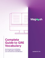 Complete Guide to GRE Vocabulary