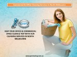 Commercial & Office Cleaning Services In North Melbourne