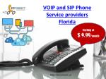 VOIP and SIP Phone Service providers Florida