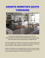 Granite Worktops South Yorkshire