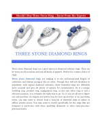 Should I Buy Three Stone Ring – Know From the Experts