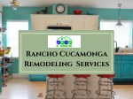 Convenient Kitchen Remodeling Contractor in Fontana & Rancho Cucamonga