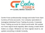 Most Reliable forex Signal Provider